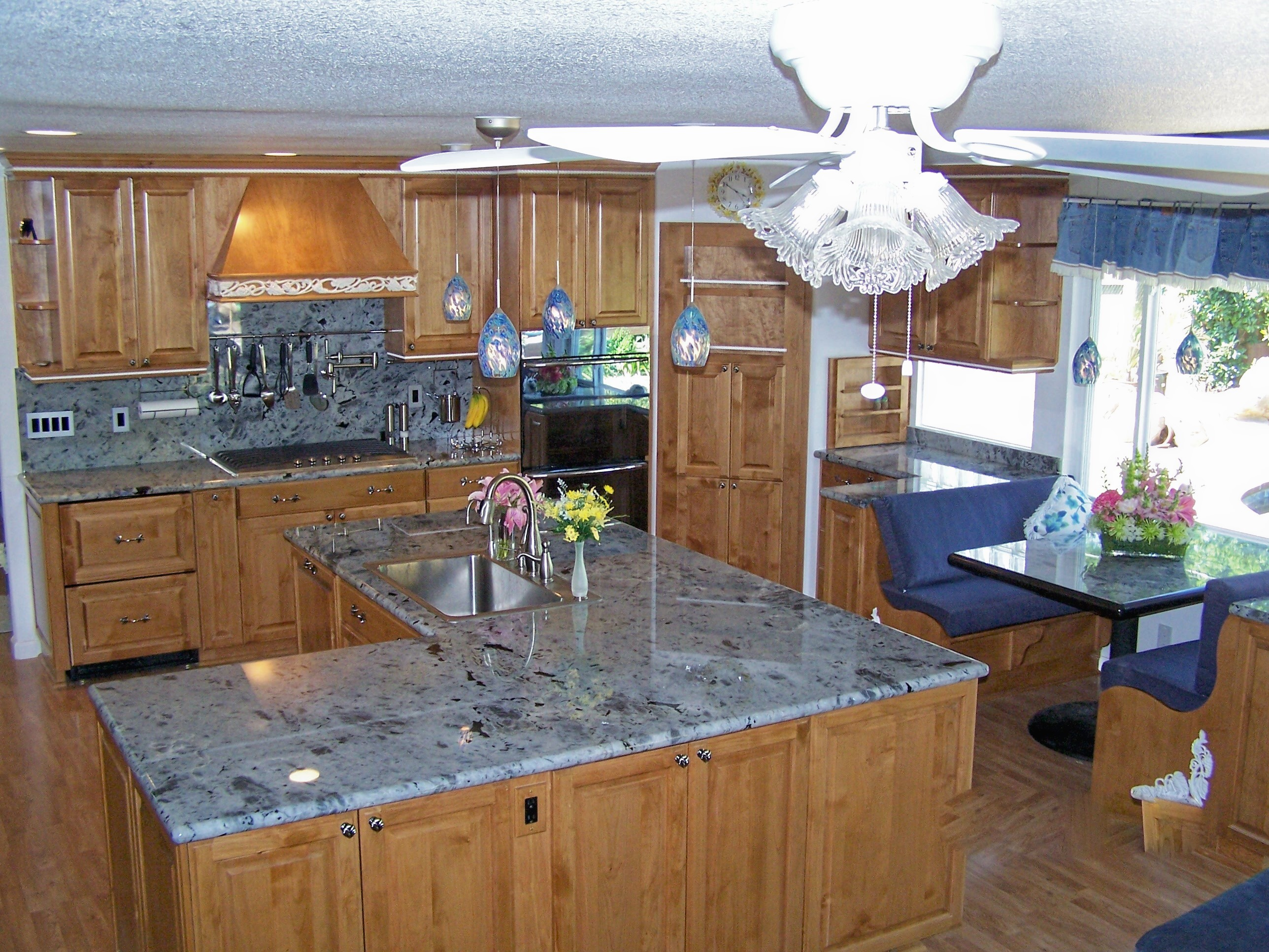 Natural Quartzite Kitchen